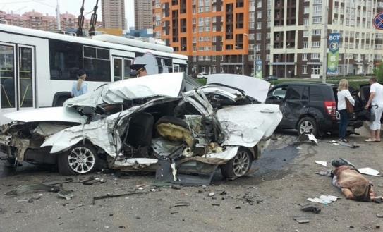 В Башкирии посадили мужчину-водителя Audi Q7