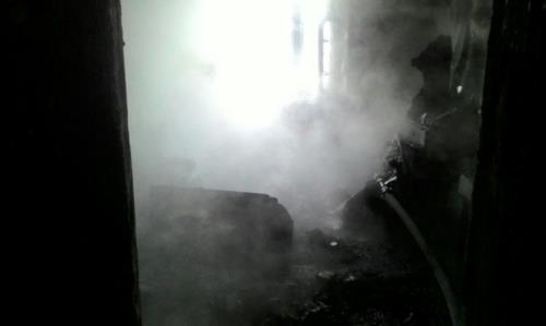В Мелеузе полностью сгорела квартира, погиб один человек