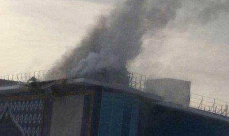 Пожар в ночном клубе «Skazka» в Уфе