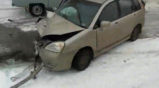 На трассе Уфа-Стерлитамак столкнулись два автомобиля