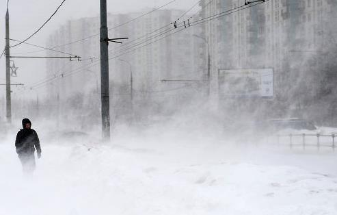 В Башкирии 10 января ожидаются метели, сильный ветер и снегопад