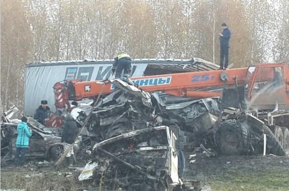 Фото: авария в Иглинском районе, столкнулись три автомобиля