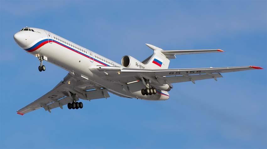 Ту-154: летно-технические характеристики