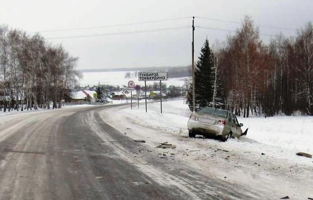 ДТП на трассе в Бакалинском районе