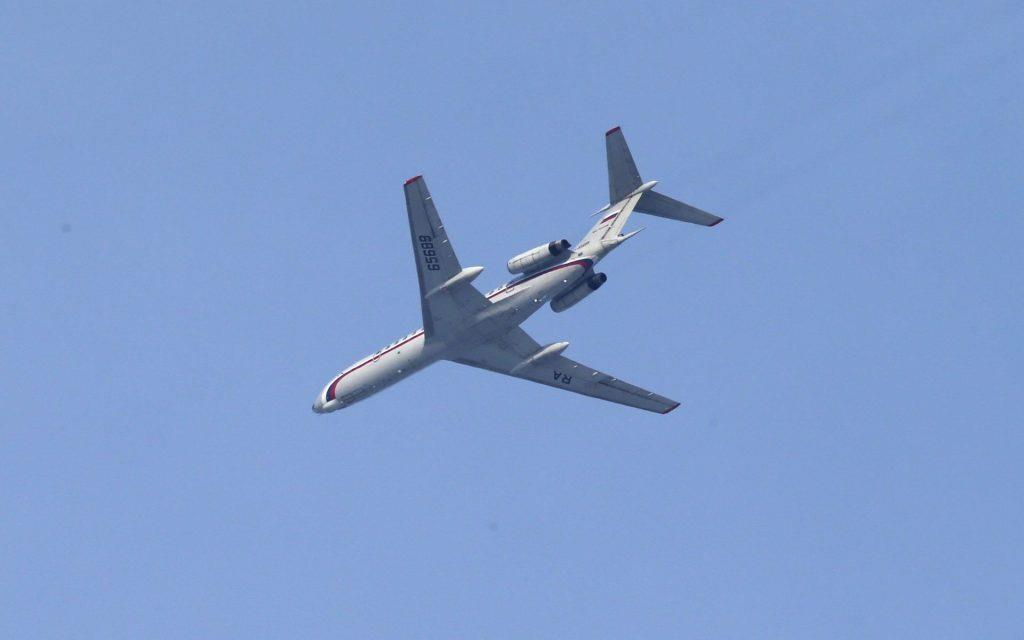 Ту-154, упал в Черном море