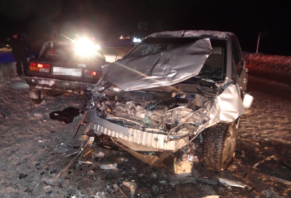 ДТП В Аургазинском районе Башкортостана двое погибих, семь человек пострадавших