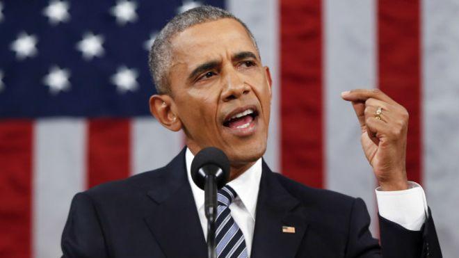 Комментарий Барака Обама о результатах выборов президента США