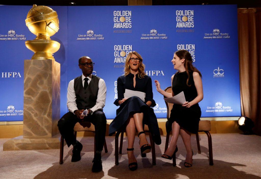 Лауреаты и номинанты наград премии «Золотой глобус-2017»