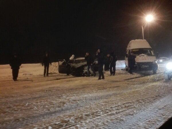 На трассе Уфа-Шакша произошло серьёзное ДТП