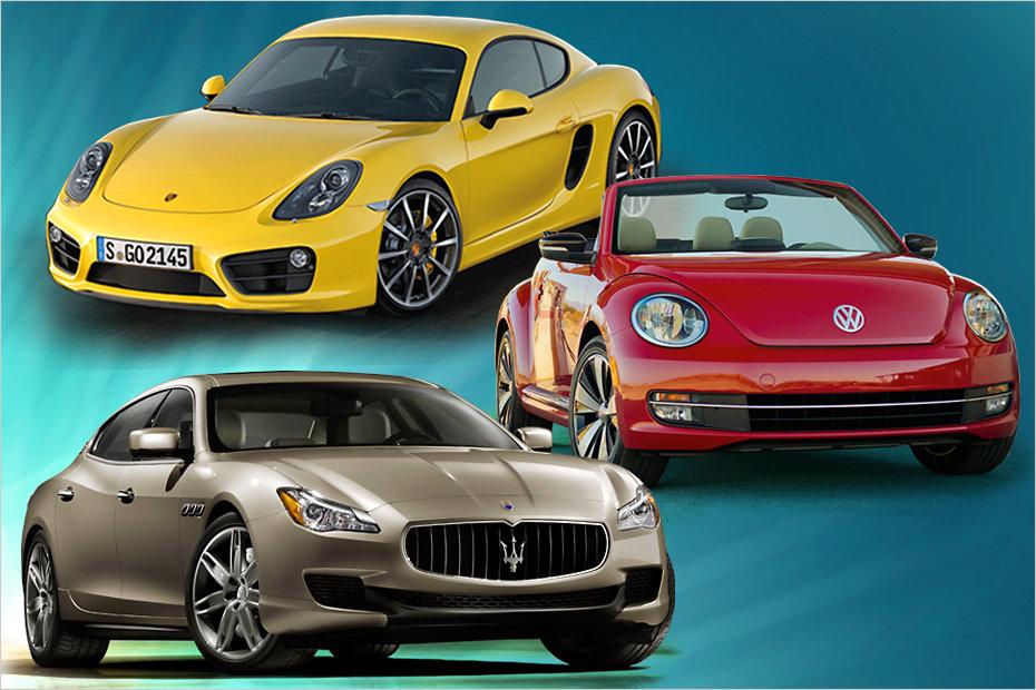 Наиболее популярные марки автомобилей прошлого года в России