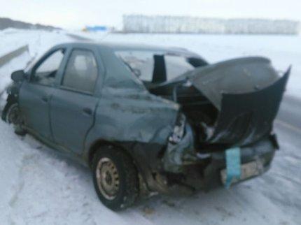 Разыскивается водитель, спровоцировавший ДТП в Благоварском районе Башкирии