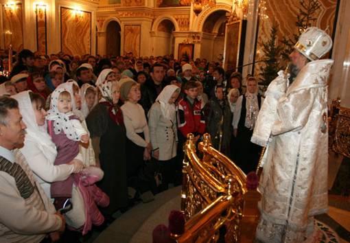 Рождество Христово встретили православные Башкортостана