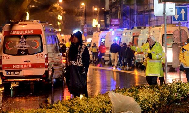 Терракт в одном из ночных клубов в Стамбуле