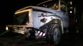 В Башкирии на трассе Нефтекамск-Дюртюли «Fiat Albea» столкнулся с эвакуатором