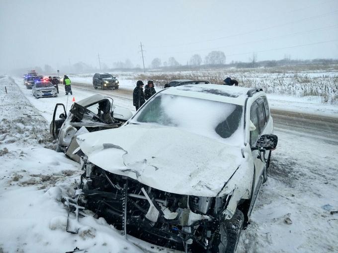 В Башкирии на трассе М-7 произошло второе ДТП