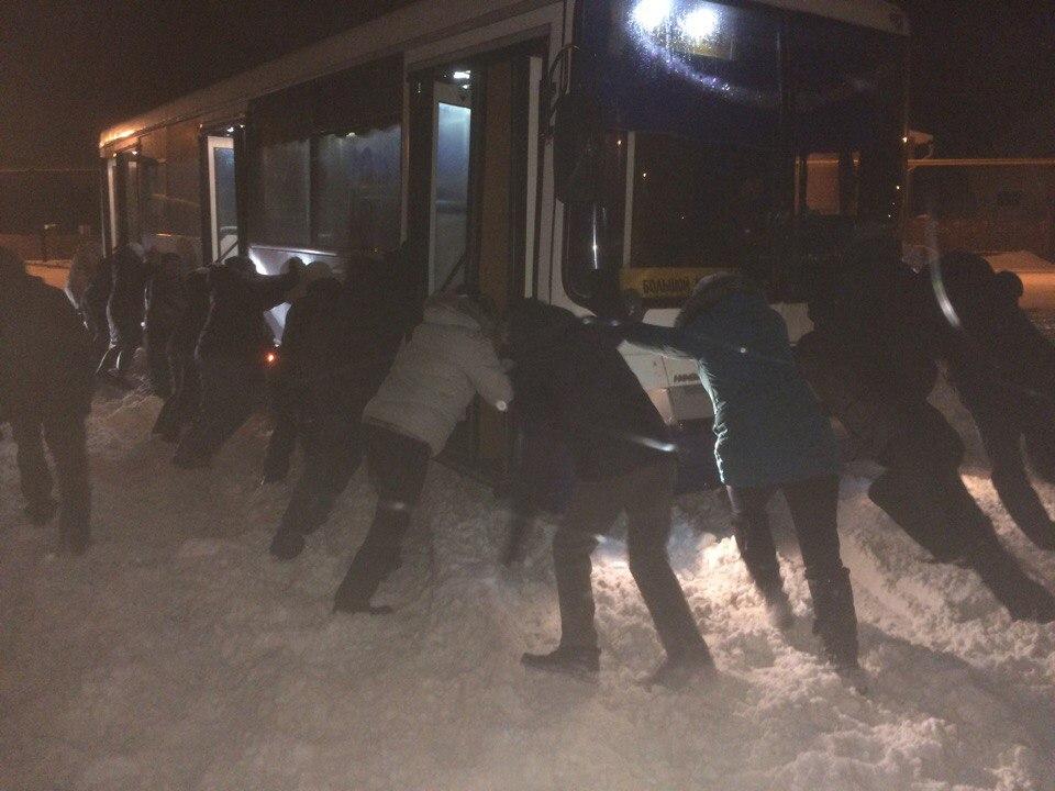 В Башкирии пассажиры автобуса стали автобурлаками