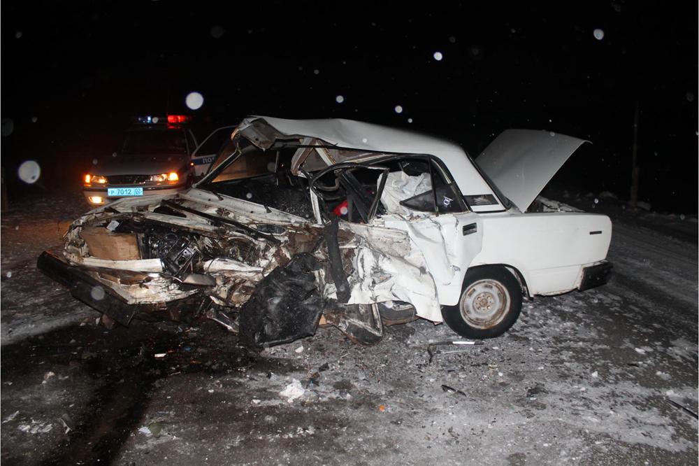 В Башкирии проводится расследование гибели в ДТП водителя ВАЗ-2107
