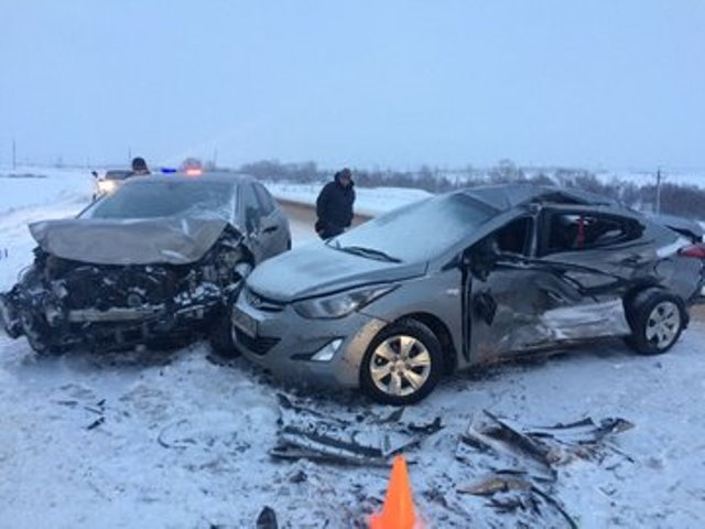 В Башкирии в ДТП пострадали трое детей