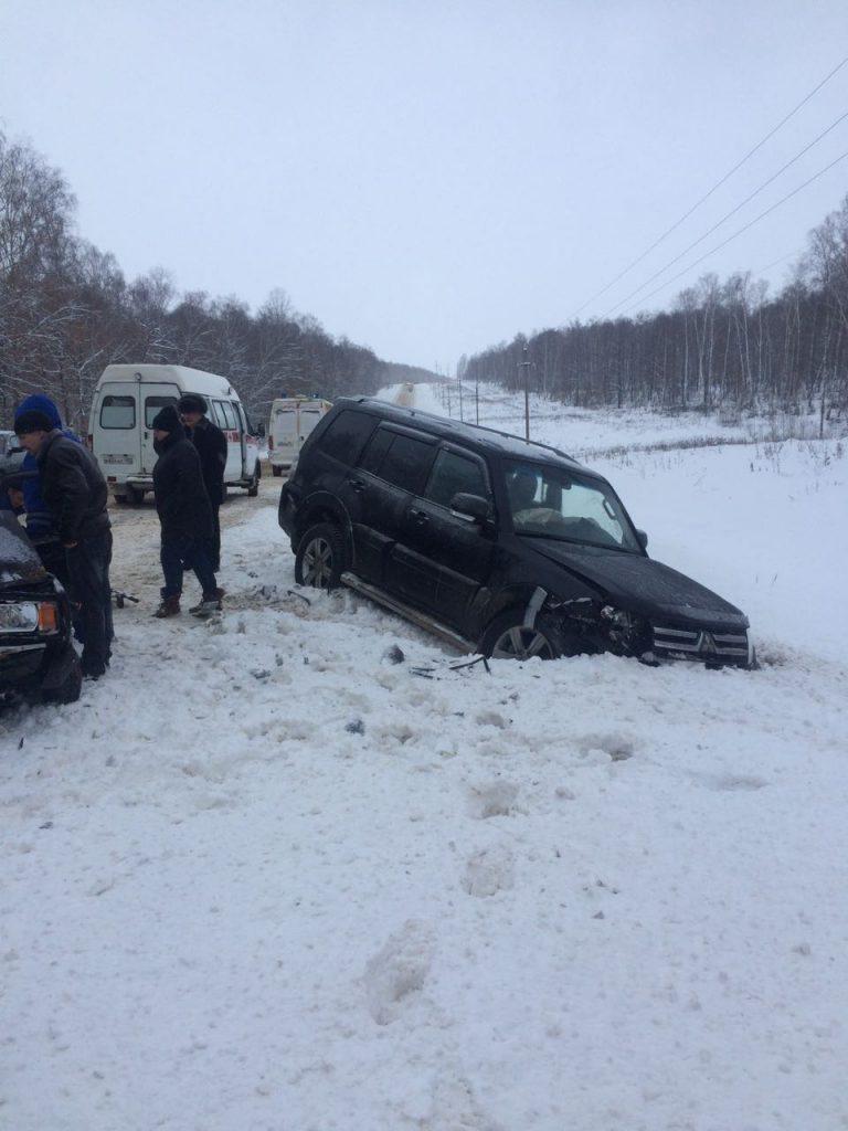 В Башкортостане произошло ДТП на 1 территории Илишевского района.