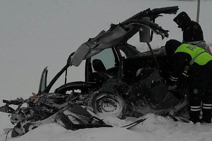 В Бижбулякском районе Башкирии произошло ДТП со смертельным исходом