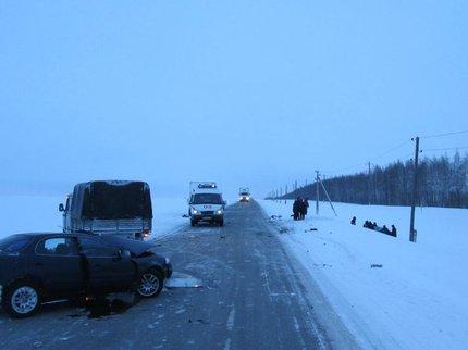 В Бураевском районе Башкирии произошло ДТП со смертельным исходом