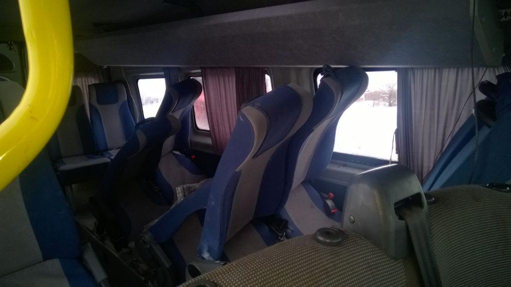 В Калининском районе Уфы утром сегодняшнего дня возле деревни Базилевка произошло столкновение  «Рено Флюенс» с маршруткой.