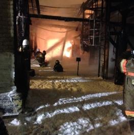 В Орджоникидзевском районе Уфы произошел пожар наносной станции