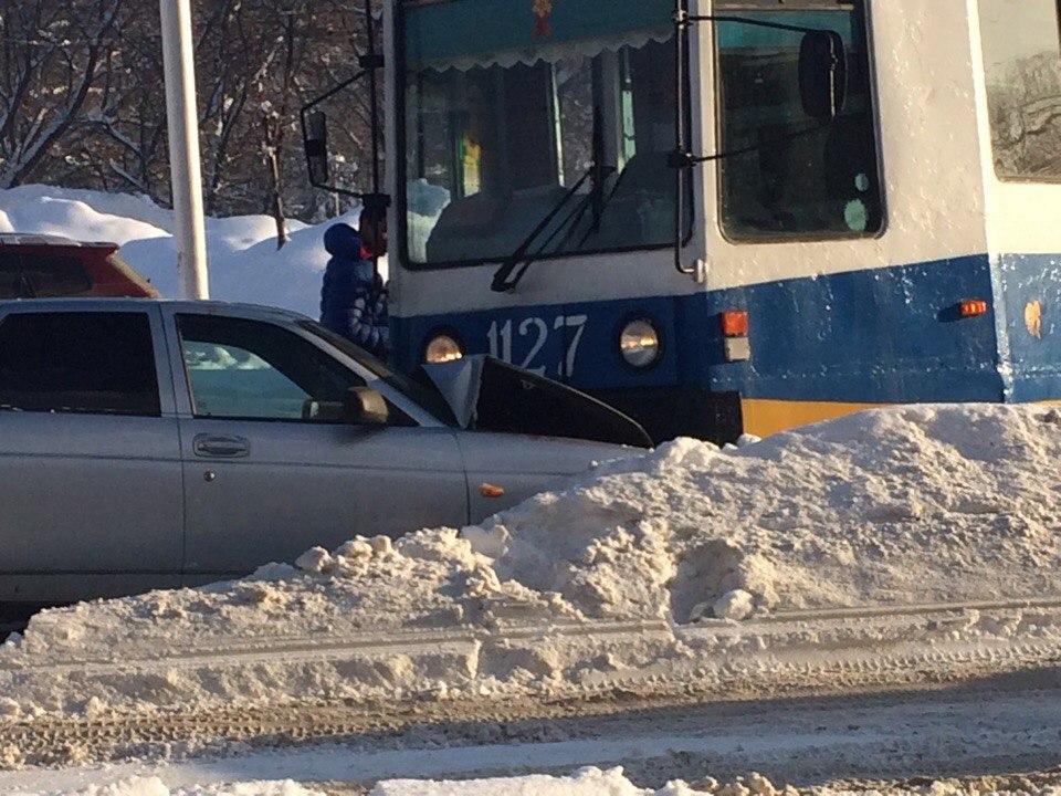 В Уфе произошло ДТП на улице Большой Гражданской