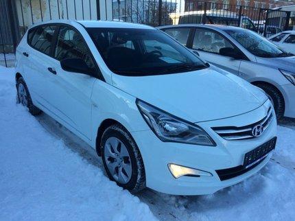 В Уфе пропал автомобиль Hyundai Solaris
