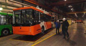 В Уфе скоро появятся троллейбусы оранжевого цвета